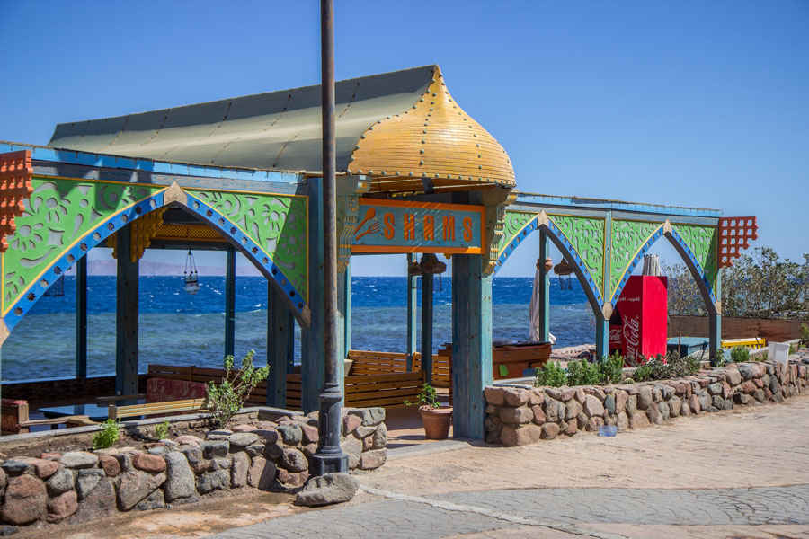 Shams Restaurant in Dahab