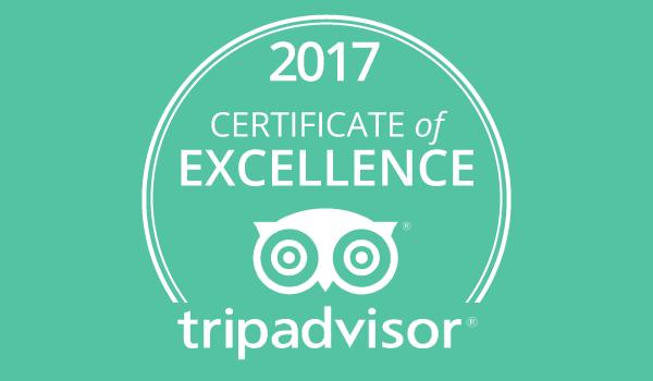 Trip Advisor Winner 2017