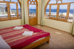Sea view room at Shams Hotel and Dive Centre in Dahab