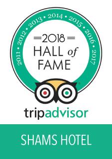 Award Shams Hotel 2018
